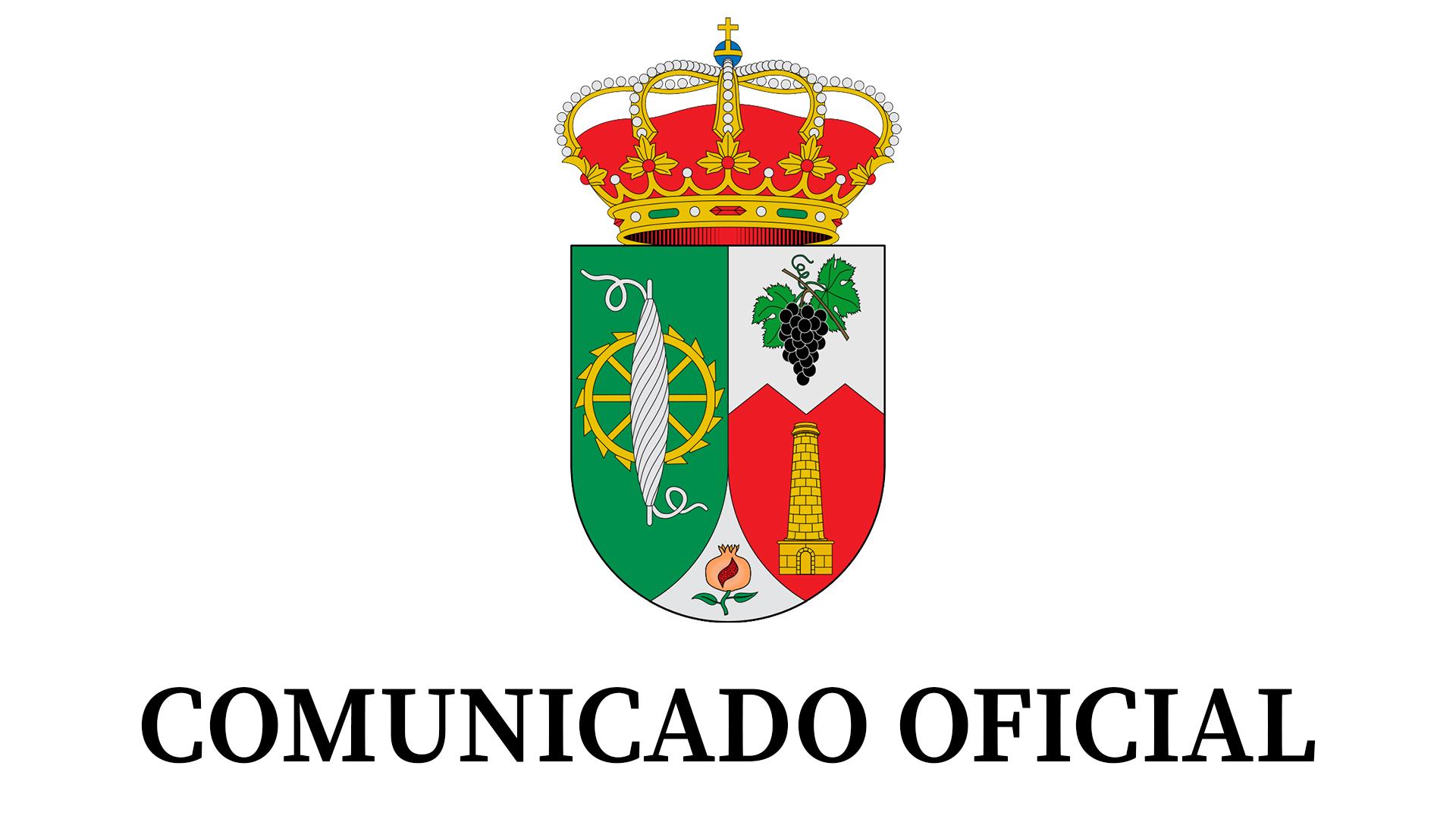 Logotipo comunicado oficial